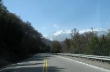 Ruta-Nacional-N234-Camino-de-los-siete-lagos-San-Martín-de-los-Andes,-tramo-1-